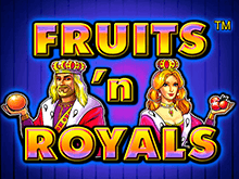 Игровые автоматы Fruits and Royals в казино Вулкан