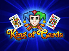 Игровые автоматы King of Cards в казино Вулкан